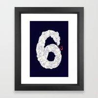 S6 Tee - Many Framed Art Print
