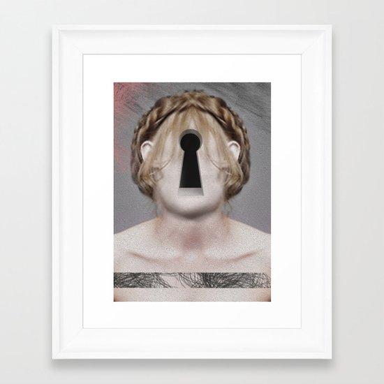 hollow Framed Art Print