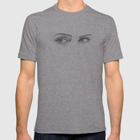 Look Into My Eyes Mens Fitted Tee Athletic Grey SMALL