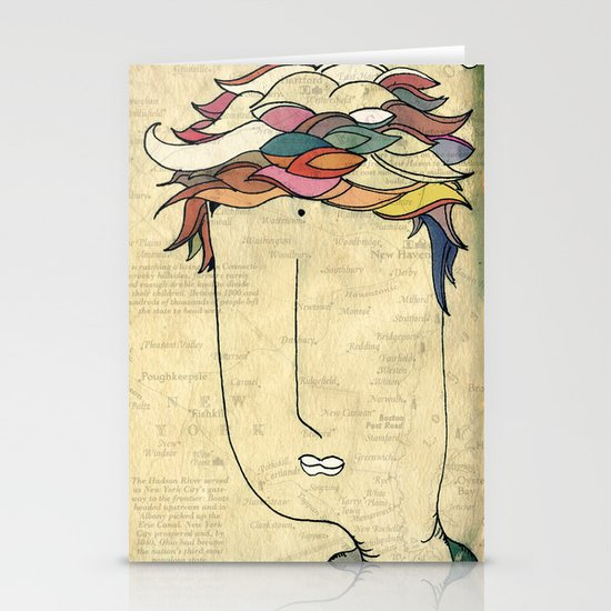 I don't need eyes to see where I am going.. Stationery Card