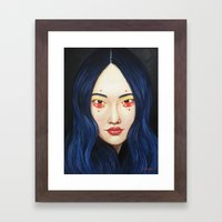 Close Up 9 Framed Art Print