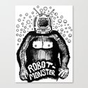 Robot-Monster Canvas Print