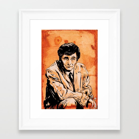 Columbo Framed Art Print