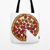 Pizza Time! Tote Bag