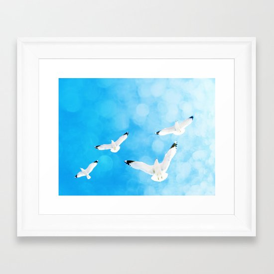 Fly Free Framed Art Print