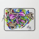 Coloured By Confusion Laptop Sleeve