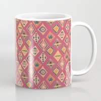 Desert Diamonds Pattern Mug