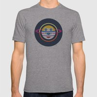 Spaceman 4 Mens Fitted Tee Athletic Grey SMALL