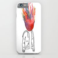 iPhone & iPod Case featuring Seeing Red by Abby Mitchell