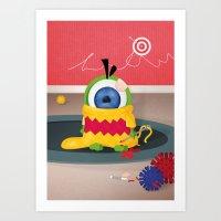 Tiny Eyez Art Print