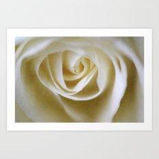 Dreamy Vintage Rose Art Print