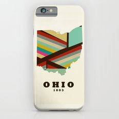 Ohio state map modern Slim Case iPhone 6s
