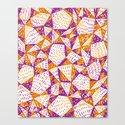 Triangle Pattern Print Canvas Print