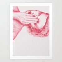 Rostro Art Print