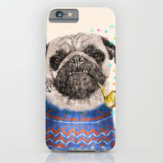 Mr.Pug II iPhone & iPod Case
