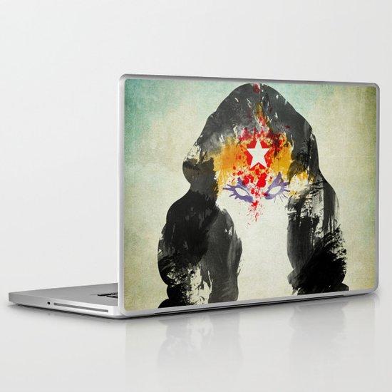 Muscle Girl Laptop & iPad Skin