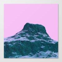 Pastel Modular Landscape Canvas Print