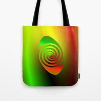 Together Entwined as One Tote Bag