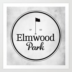 Elmwood Park Art Print