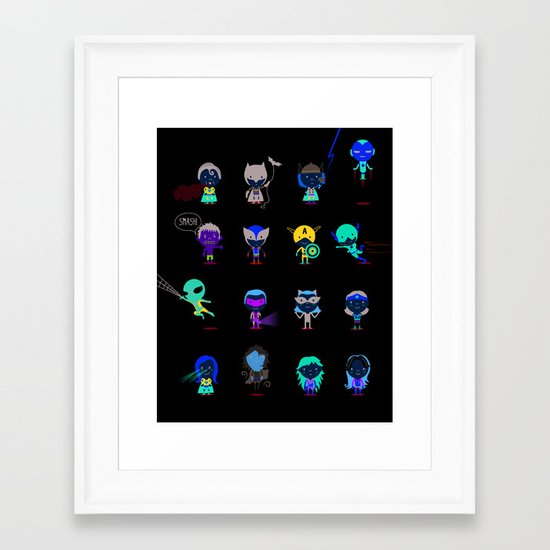Superhero! Framed Art Print