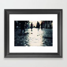 Shopping Framed Art Print