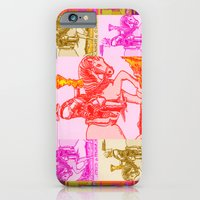iPhone & iPod Case featuring Knights Be Knighting by tessellate