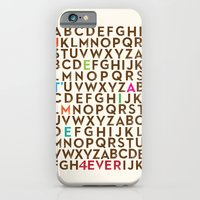 iPhone & iPod Case featuring Je T'aime 4 Ever by Old & Brave