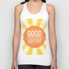 Morning Sunshine Unisex Tank Top