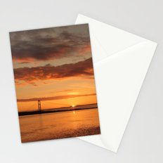 Humber Bridge Sunrise Stationery Cards
