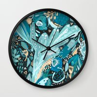 Night Shades Wall Clock