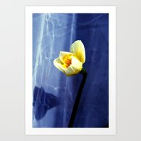 only nature is perfect Art Print