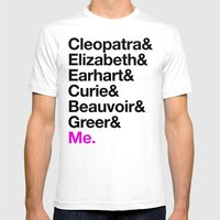 A Short List Of Notable … Mens Fitted Tee White SMALL