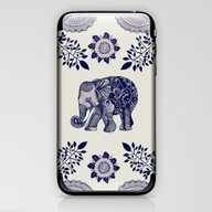 iPhone & iPod Skin featuring Elephant Pink by Rskinner1122