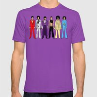Outfits of Prince Fashion on Purple Mens Fitted Tee Ultraviolet SMALL