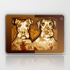 Brother Dogs Bronze Laptop & iPad Skin
