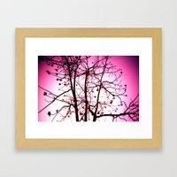 La Vie In Rose Framed Art Print