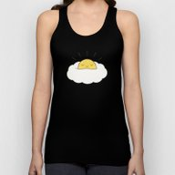 Sunny Breakfast Egg Clou… Unisex Tank Top