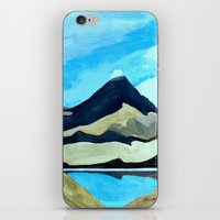 Mt Doom : Tama Lakes iPhone & iPod Skin