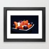 Yummy Framed Art Print