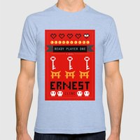 Ready Player One Alterna… Mens Fitted Tee Tri-Blue SMALL