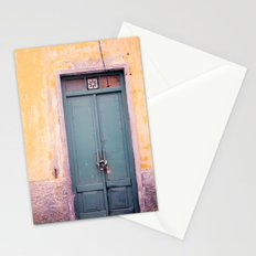 Knock on my door, please! Stationery Cards