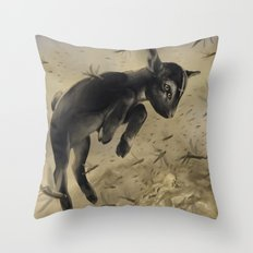Salt the Earth Throw Pillow
