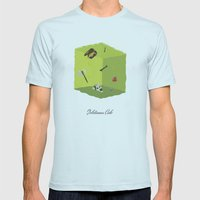 Gelatinous Cube Mens Fitted Tee Light Blue SMALL