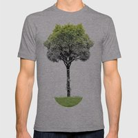 Rooted Sound V (clarinet… Mens Fitted Tee Athletic Grey SMALL