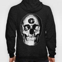 Third Eye Bones (Black and White Edition) Hoody