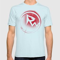 RicoWear Mens Fitted Tee Light Blue SMALL