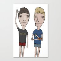 Band Guys Canvas Print