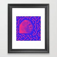 Lion Time Framed Art Print