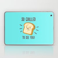 Cheesy Greetings! Laptop & iPad Skin