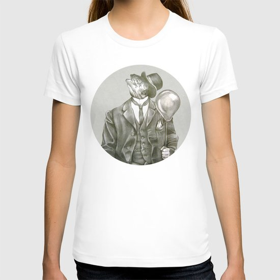 In which a dapper fish is encircled T-shirt